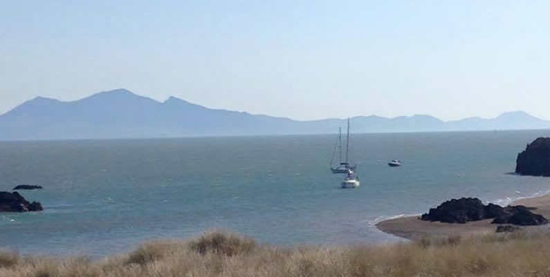 Mountain and Coastal Views At Caernarfon Caravan Sites