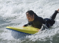 surfer bodyboarding